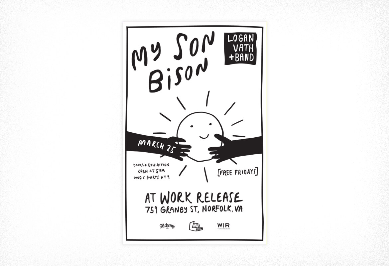 JDSdsgn_MySonBison_Poster